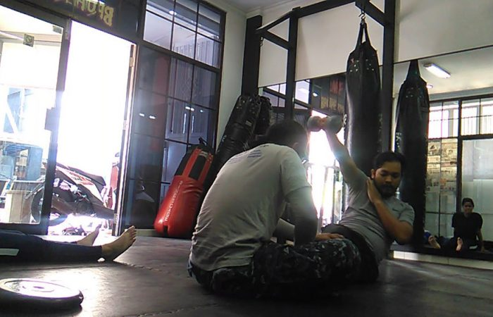 strength training - bumi muay thai bandung