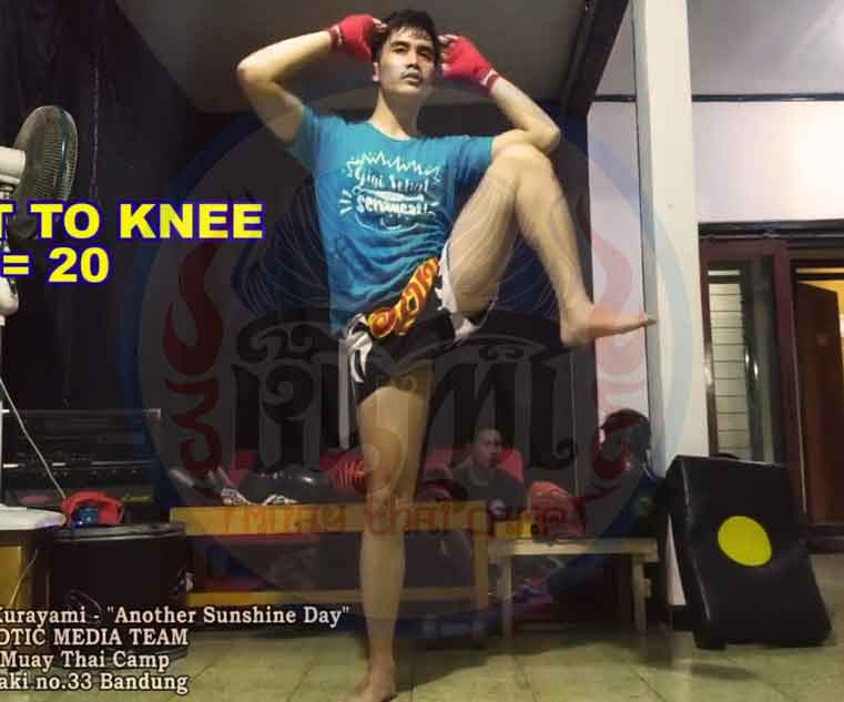exercise 1 squat to knee
